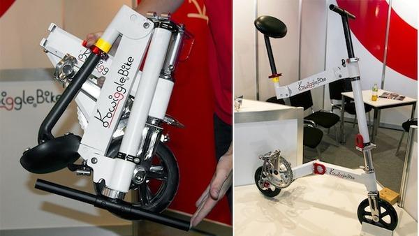 """【画像あり】 """"世界最小の折りたたみ自転車"""" が 可愛すぎる wwwwwwwwwwのサムネイル画像"""