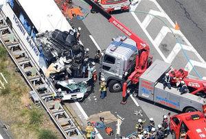 【東名バス事故】???「道路の設計ミスが原因。中央分離帯の構造が悪い。」という意見があがるwwwwwwwwwwのサムネイル画像