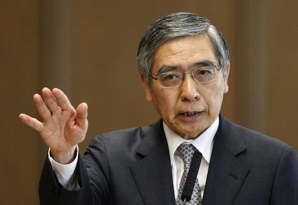 日銀黒田総裁「日本人に消費させることがこれほど難しいとは思わなかった」のサムネイル画像