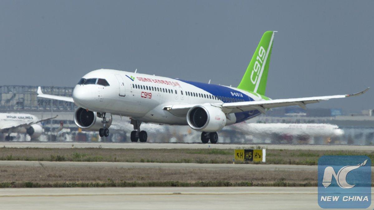 【驚愕】中国初の大型旅客機「C919」いよいよ明日初フライトへwwwwwwwwwwwwwのサムネイル画像