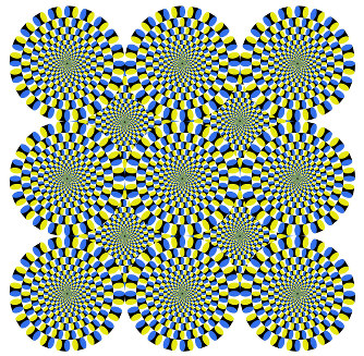 【画像あり】AIさん、人間と同様に「錯視」というエラーを起こしてしまうwwwwwwww