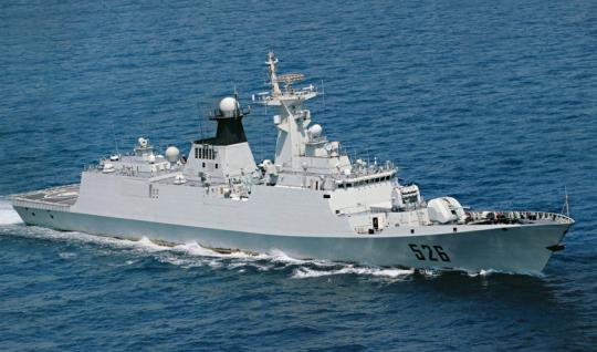 【緊急速報】沖縄・尖閣諸島の接続水域に中国の軍艦が入域のサムネイル画像