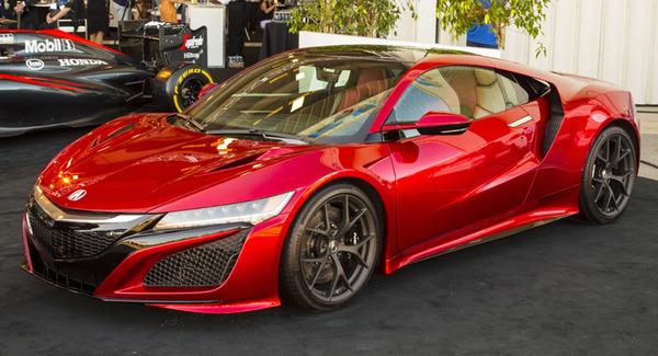 ホンダの新型「NSX」4月から量産開始へ。気になるお値段は約1700万~2300万円たっかwwwのサムネイル画像