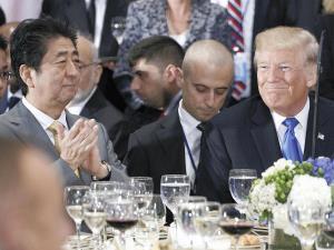 【国連】トランプ米大統領「シンゾーには力がある。北朝鮮を封じるには力が必要だ」軍事協力への期待示すのサムネイル画像