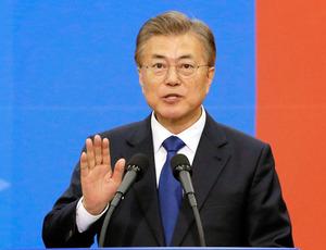 【韓国】文大統領、教科書から北朝鮮「南侵」「世襲」「人権」などの用語を削除へwのサムネイル画像