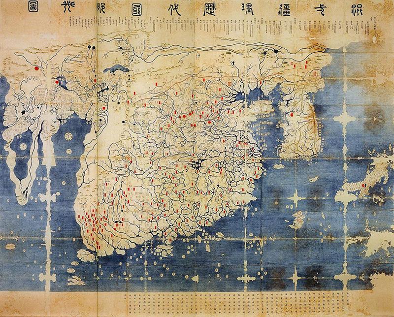 【古地図】朝鮮半島、実は日本よりはるかに大きかった模様wwwwwwwwwwwwwwのサムネイル画像