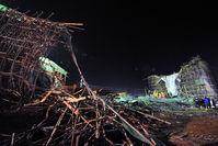 工事中の橋が崩壊 (画像有)【中国】のサムネイル画像
