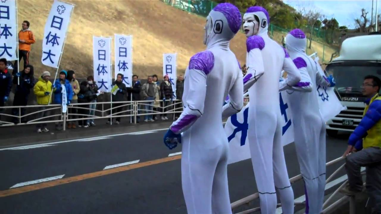 【画像】〈箱根駅伝〉ドラゴンボール「フリーザ」コスプレで応援→批判殺到wwwwwwwwwwwwのサムネイル画像