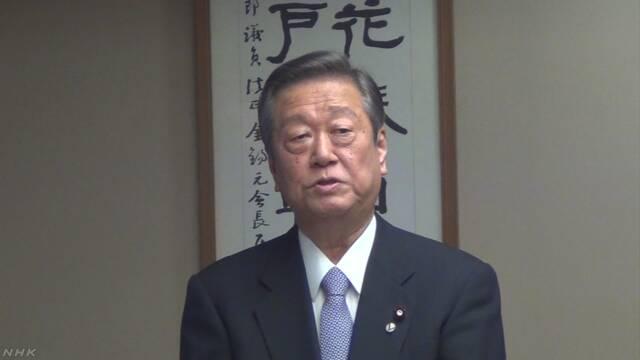 小沢代表「安倍政権は非常にぜい弱、簡単に潰せる」野党勢力の結集を呼びかけ のサムネイル画像