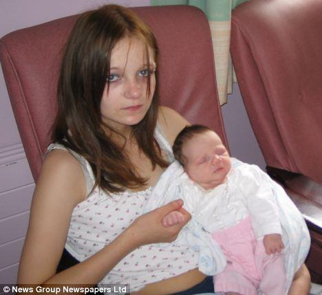 小学生で飲酒麻薬セックス三昧の末、11歳で妊娠した少女のサムネイル画像