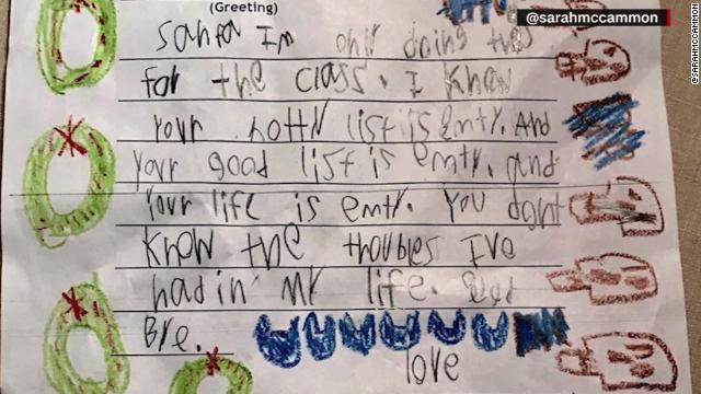 アメリカの6歳児が、サンタに辛辣な手紙「お前の人生は空っぽだ」 のサムネイル画像