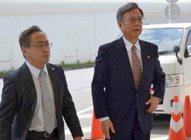 翁長知事が中国へ「経済・自治体交流進める」日本国際貿易促進協会の訪中団に同行のサムネイル画像