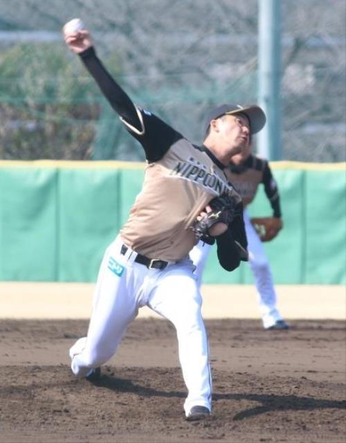 【朗報】日本ハム二軍の斎藤佑樹さん、芯を外して打たせることに成功wwwwwwwwwwwのサムネイル画像