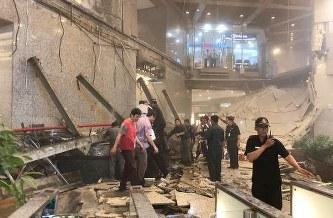 【速報】インドネシア・ジャカルタ証券取引所ビル、建物内部の床が崩落、負傷多数・・・のサムネイル画像