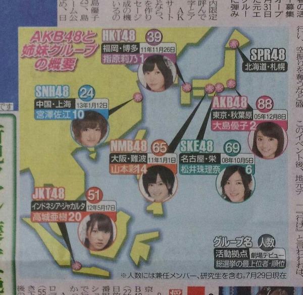 【SPR48】札幌に誕生!2015年春、北の大地でAKB姉妹グループ活動開始!!!!!!!!のサムネイル画像
