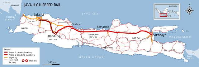 【インドネシア】ジャワ高速鉄道、発注先を「中国」から「日本」へ →「日本の費用と鉄道技術が必要」のサムネイル画像