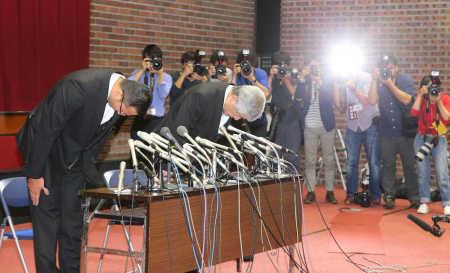 【悲報】日大の緊急会見が酷過ぎた結果wwwwwwwwwのサムネイル画像