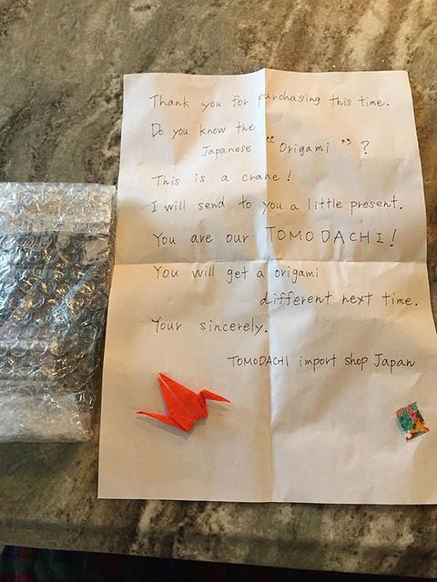 海外から日本の会社にAmazonで注文 → 日本人の同封の手紙に称賛相次ぐwwwwwwwwwのサムネイル画像