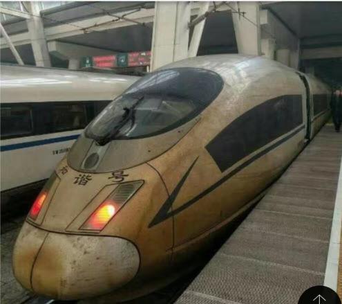 【画像】中国の光化学スモッグ地帯で白い新幹線を走らせた結果wwwwwwwwwwwwwwwwwのサムネイル画像