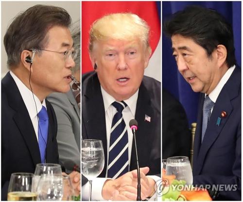 文大統領「日本は同盟国ではない」 トランプと安倍を前に韓米日首脳会談で明言wwwwwwwwwwのサムネイル画像