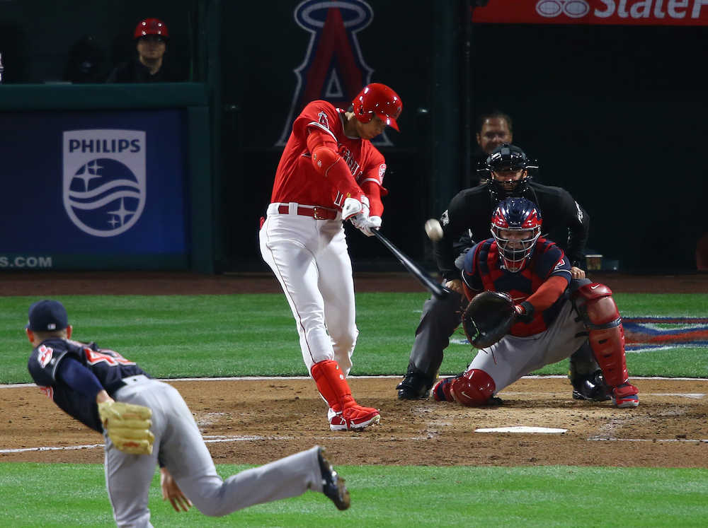 【MLB】エンゼルス・大谷、打者として大活躍(※動画あり)wwwwwwwwwwww のサムネイル画像