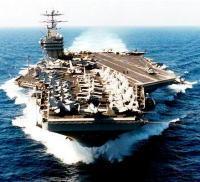 【北朝鮮砲撃】 米原子力空母「ジョージ・ワシントン」と4隻のイージス艦  朝鮮半島沖の黄海に展開のサムネイル画像