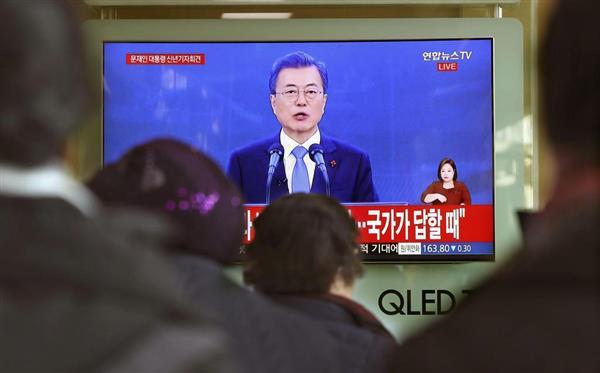 【韓国】文大統領「誤ったもつれは解かなければ」→ 日本に謝罪を要求wwwwwwwww のサムネイル画像