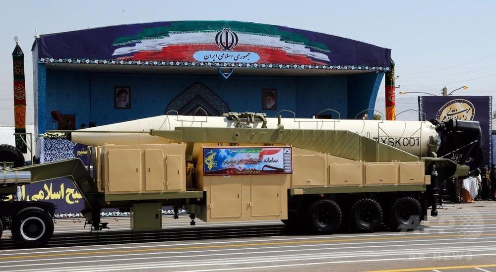 【国際】イラン、新型中距離ミサイルの発射実験に「成功」 米国の警告を無視のサムネイル画像