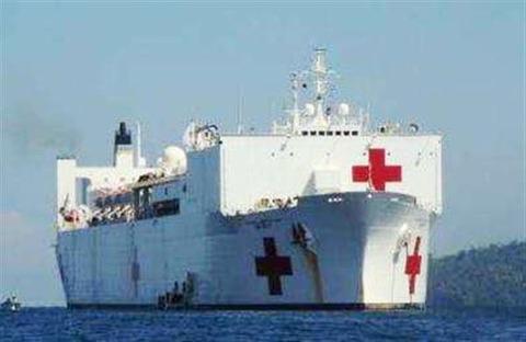 【衝撃】米海軍の巨大病院船「マーシー」が東京港へ!!!← これもう戦争開始じゃね?のサムネイル画像
