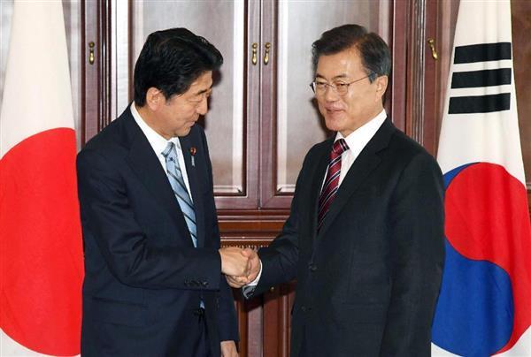 【日韓首脳会談】安倍首相、文大統領に「日韓合意履行要求」をした結果・・・のサムネイル画像