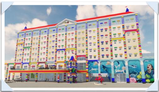 【悲報】レゴランドさん、レゴホテルを作ってしまうwwwwwwwwwwwwwのサムネイル画像