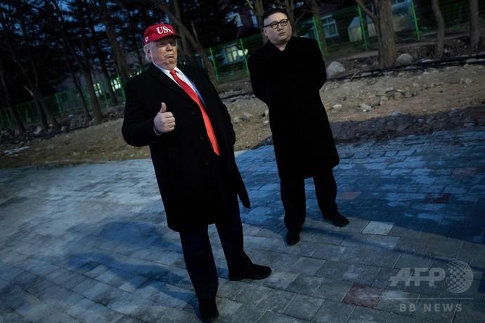 【平昌五輪】入場行進中に偽金正恩と偽トランプが出現するwwwwwwwwのサムネイル画像