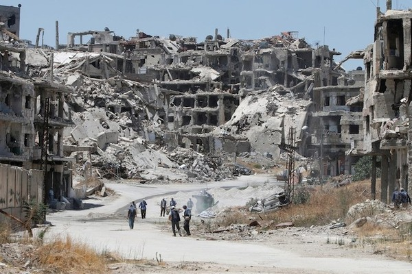 【驚愕】シリア国営メディア「米国に攻撃された施設は、がん研究所だった!」のサムネイル画像