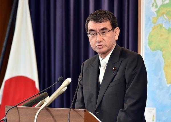河野外相「AKB総選挙で沖縄復興予算2800万円使うのおかしいだろ」のサムネイル画像