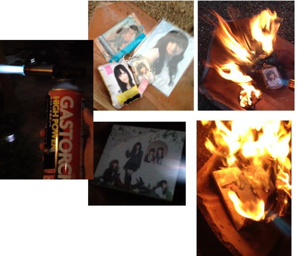 【画像】AKB48ぱるること島崎遥香オタ グッズを燃やしオタ卒宣言wwwwwwwwwwwwwwwwwのサムネイル画像