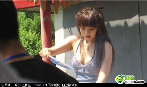おっぱいすぎる串焼きの娘さんが話題にのサムネイル画像