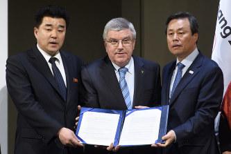 【平昌五輪】IOC、特例で北朝鮮の参加を承認へwwwwwwwwwwwwのサムネイル画像