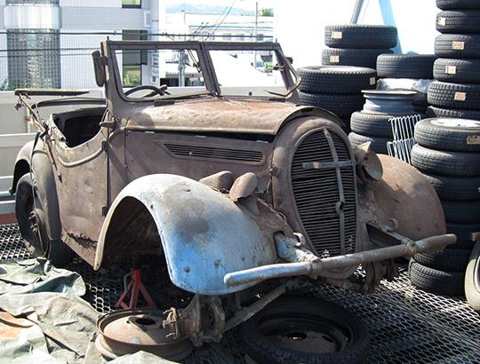 世界初の量産小型四輪駆動車「くろがね四起・前期型」が約80年の時を経て復活!!!のサムネイル画像