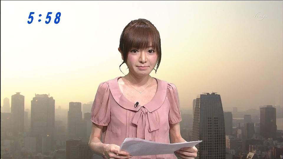 テレ東アナウンサーの元モーニング娘の紺野あさ美、恐ろしいほど痩せるのサムネイル画像