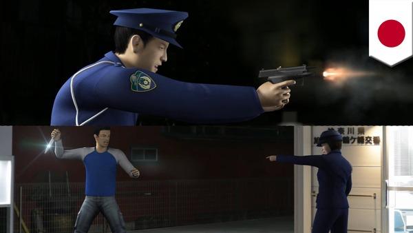 【大阪】20代男性、職質中に刃物を持って暴れ出す「撃つんなら撃て」→ その結果・・・のサムネイル画像