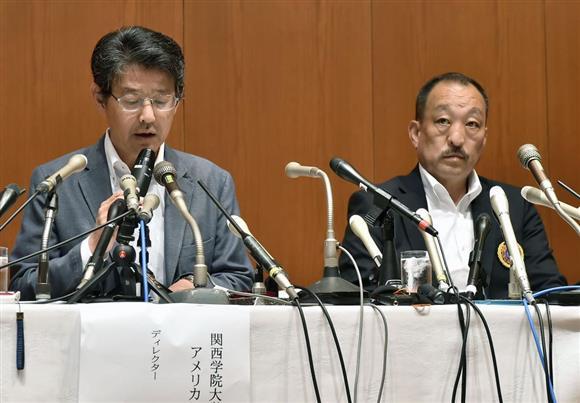 【アメフト】関学「宮川選手が真実を言ってると思う。でないと整合性がない。」 のサムネイル画像