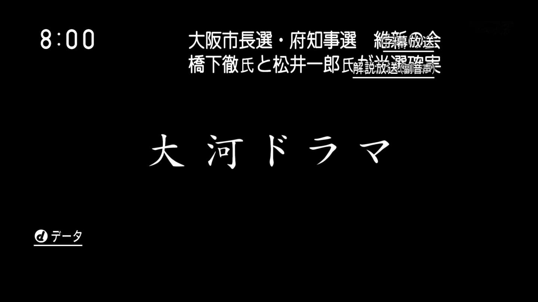 大阪市長選、橋下当確。府知事選、松井当確で維新の会完勝のサムネイル画像