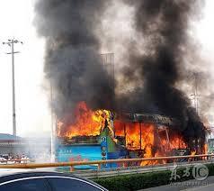 中国で幼稚園バスが炎上 乗っていた韓国人園児ら12人が犠牲に・・・のサムネイル画像