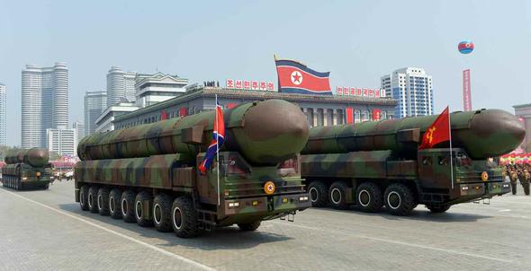 【北朝鮮】米本土全体を射程に収める新型弾道ミサイル 来年前半完成かwwwwwのサムネイル画像