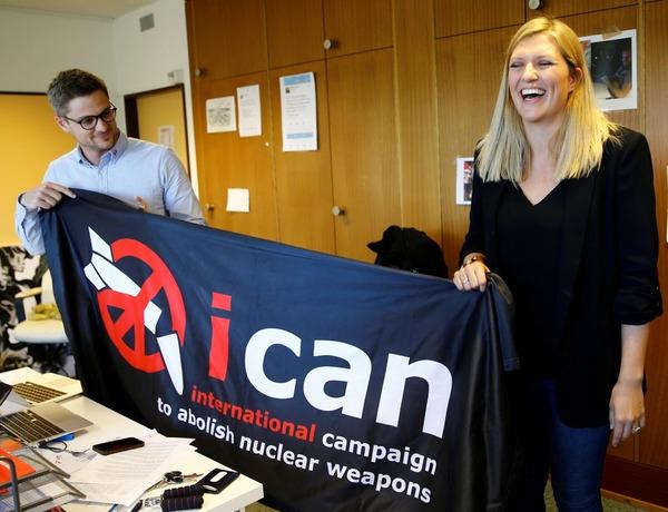 【速報】ノーベル平和賞にNGO「ICAN」 核兵器禁止条約の採択に貢献(18:02) のサムネイル画像