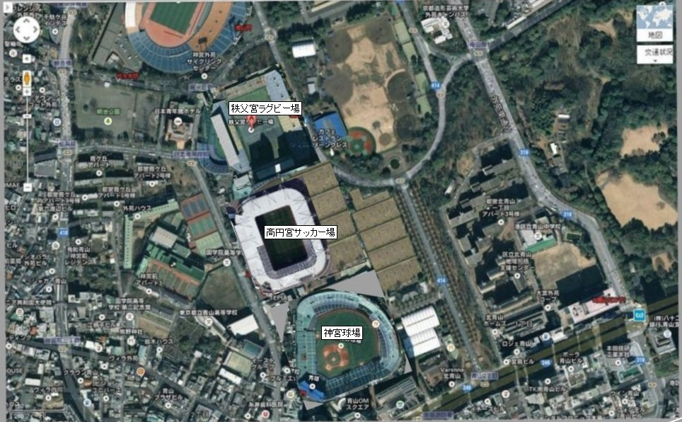 【朗報】代々木公園内にサッカー専用スタジアム建設へwwwwwwwwwwwwwwwwwwwwwwwwのサムネイル画像