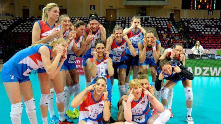 【画像】セルビアの女子バレーチーム「日本人の目は細いwwwww」と馬鹿にして大炎上へ・・・のサムネイル画像