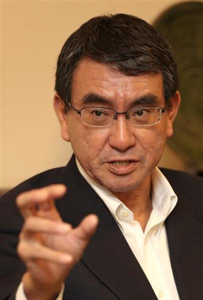 【国際】河野太郎外相、習近平主席の「米中で太平洋二分」発言に不快感「中国は太平洋と接していない」のサムネイル画像
