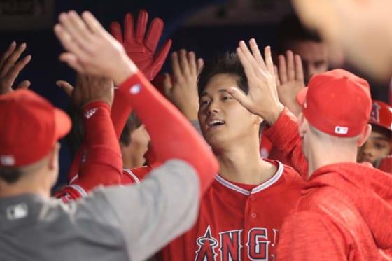 【朗報】大谷翔平さん、MLB現役投手4人目の快挙をあっさり達成wwwwwwwwwwwのサムネイル画像