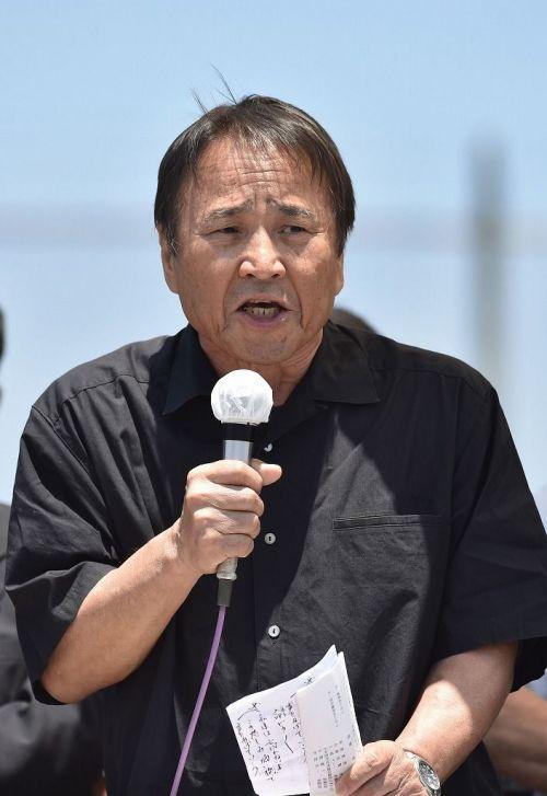 基地反対運動で逮捕された沖縄平和運動センター議長が国連でスピーチ「人権を無視している」のサムネイル画像